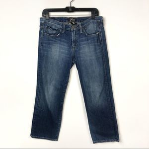 Lucky Brand Summer Sweet N Low Crop Jeans